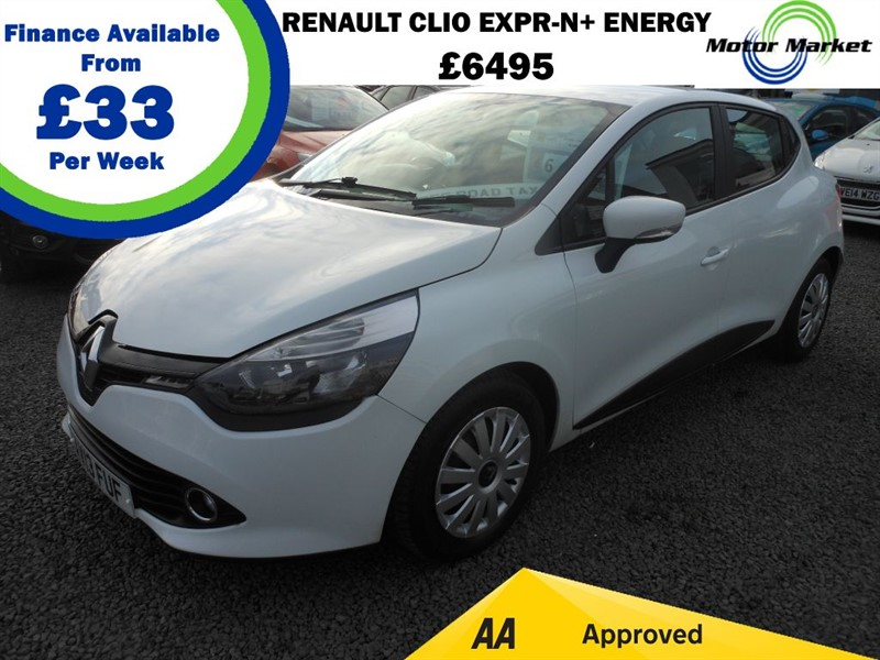 used Renault Clio EXPRESSION PLUS ENERGY DCI ECO2 S/S in cradley-heath-west-midlands
