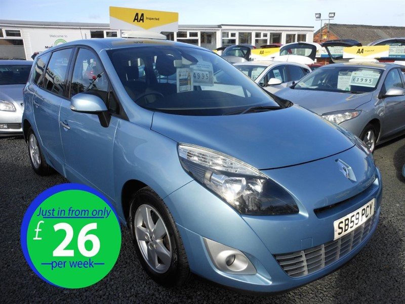 used Renault Grand Scenic DYNAMIQUE VVT in cradley-heath-west-midlands