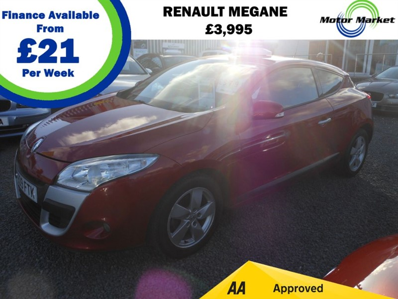 used Renault Megane DYNAMIQUE VVT in cradley-heath-west-midlands
