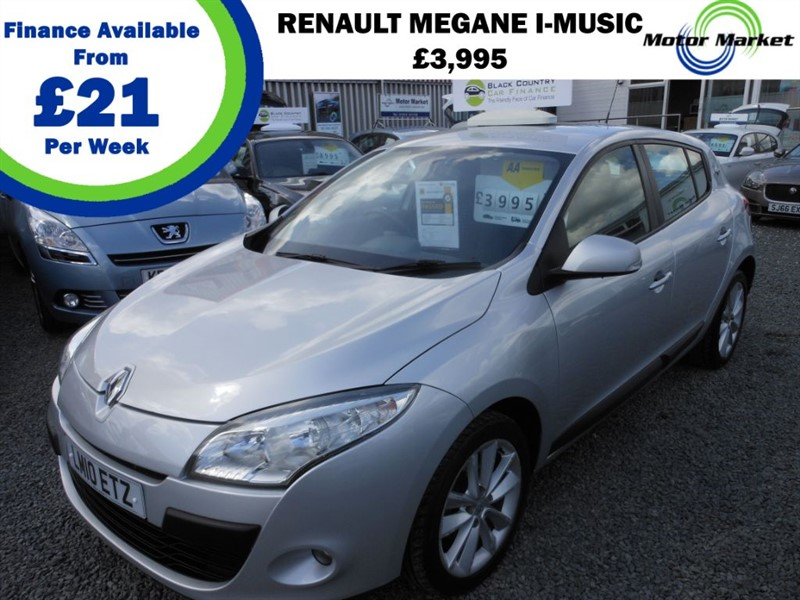 used Renault Megane I-MUSIC DCI in cradley-heath-west-midlands