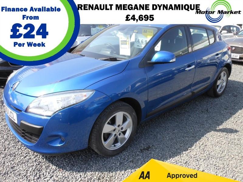 used Renault Megane DYNAMIQUE TOMTOM VVT in cradley-heath-west-midlands