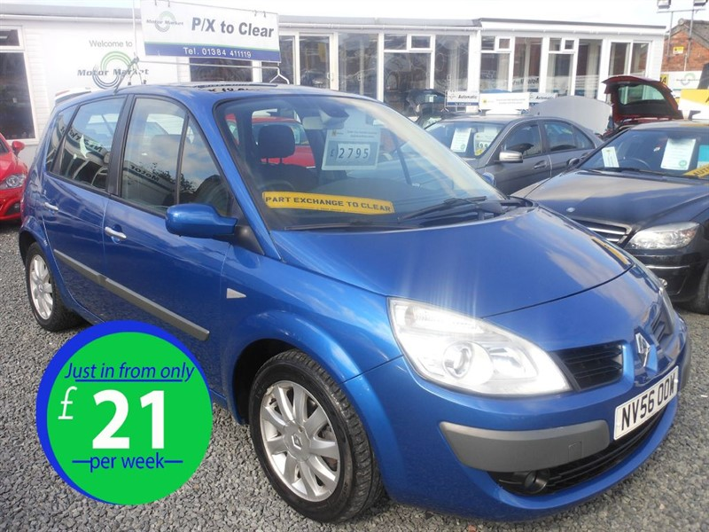used Renault Scenic DYNAMIQUE VVT in cradley-heath-west-midlands