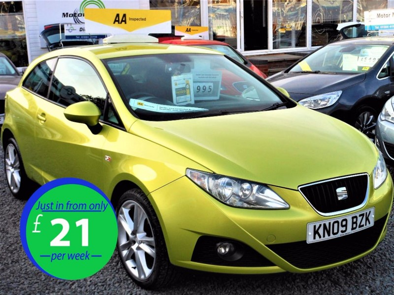 used SEAT Ibiza SPORT in cradley-heath-west-midlands