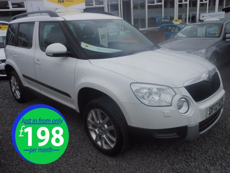 used Skoda Yeti ELEGANCE TSI in cradley-heath-west-midlands