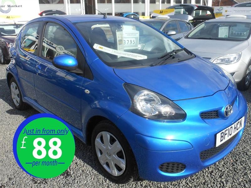 used Toyota Aygo BLUE VVT-I in cradley-heath-west-midlands