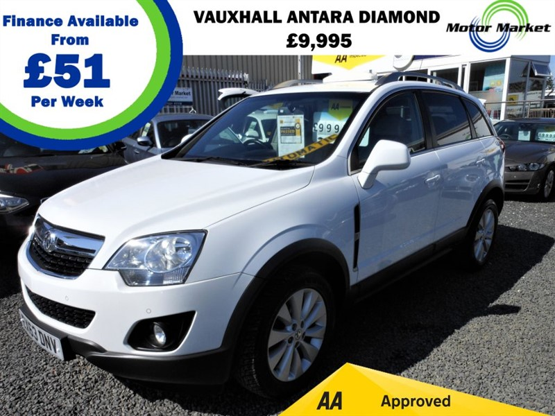 used Vauxhall Antara DIAMOND CDTI in cradley-heath-west-midlands