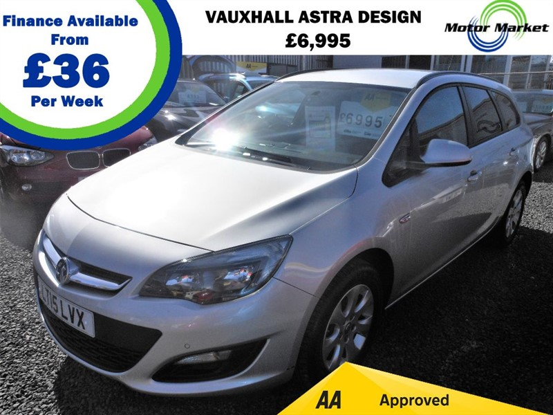 used Vauxhall Astra DESIGN CDTI ECOFLEX S/S in cradley-heath-west-midlands