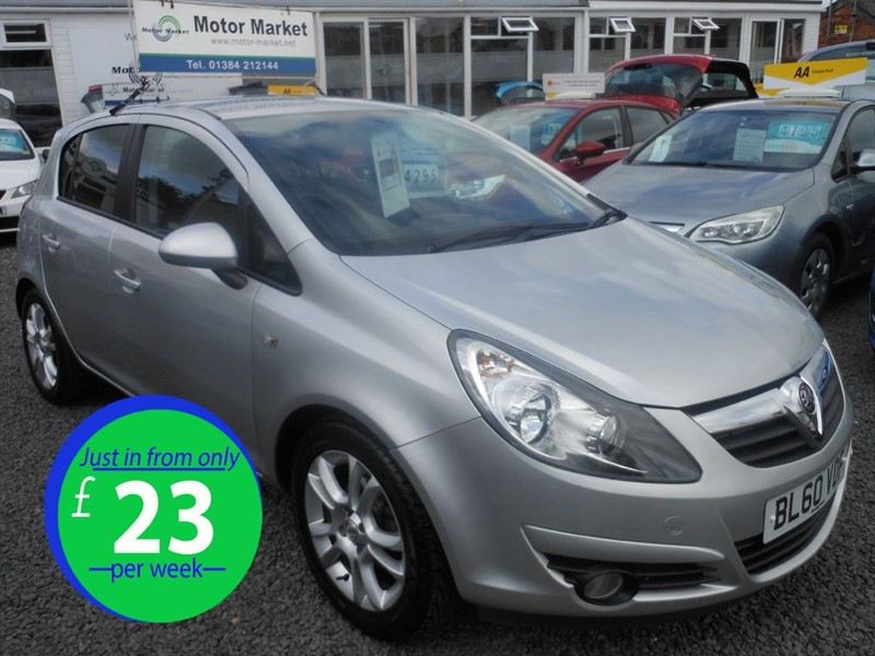 used Vauxhall Corsa SXI A/C in cradley-heath-west-midlands