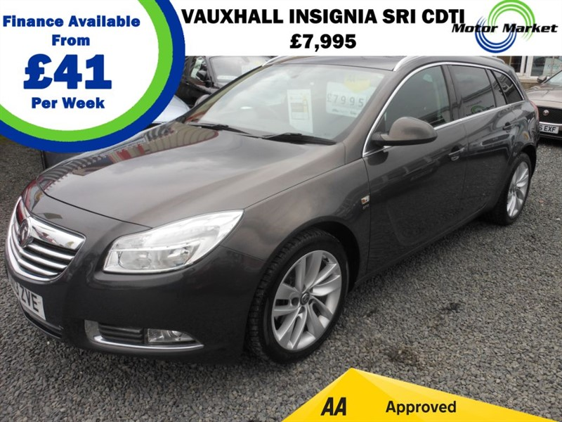 used Vauxhall Insignia SRI CDTI in cradley-heath-west-midlands