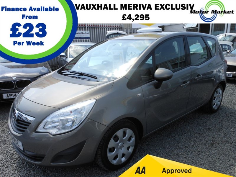 used Vauxhall Meriva EXCLUSIV CDTI in cradley-heath-west-midlands