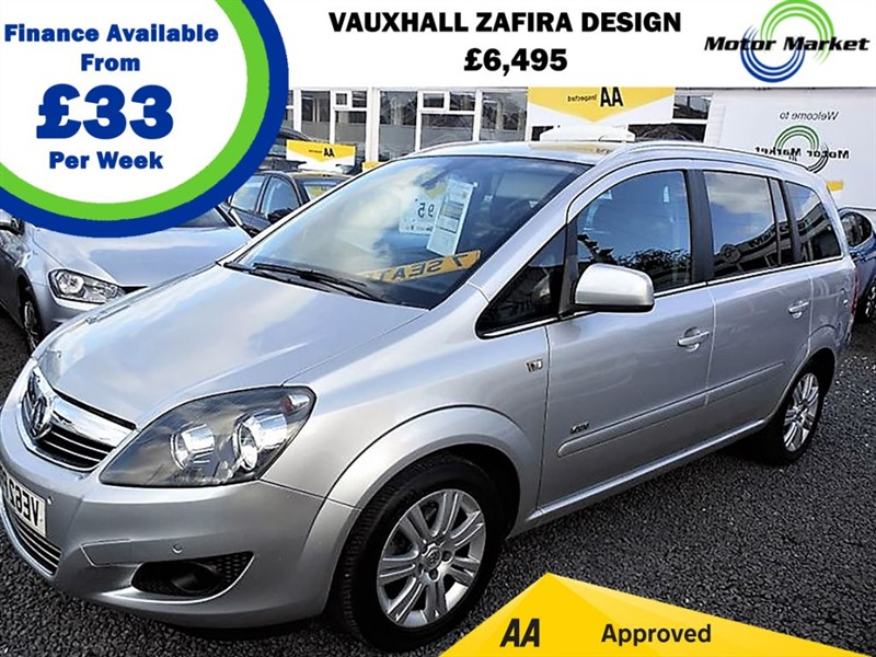 used Vauxhall Zafira DESIGN in cradley-heath-west-midlands