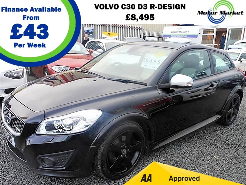 used Volvo C30 D3 R-DESIGN in cradley-heath-west-midlands