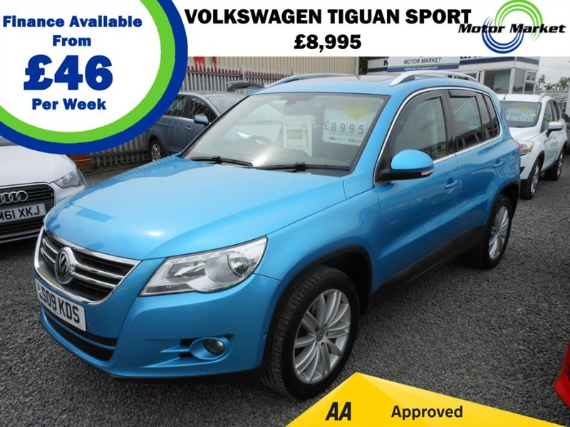 used VW Tiguan SPORT TDI in cradley-heath-west-midlands