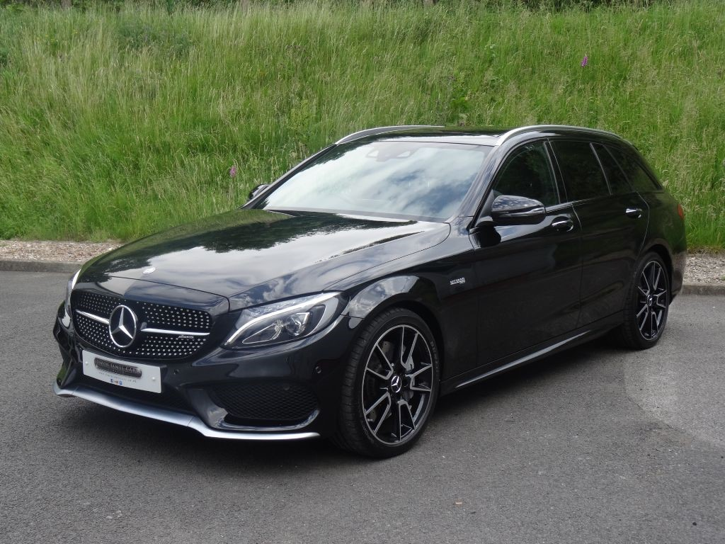 Used Obsidian Black Mercedes C43 Amg For Sale Derbyshire