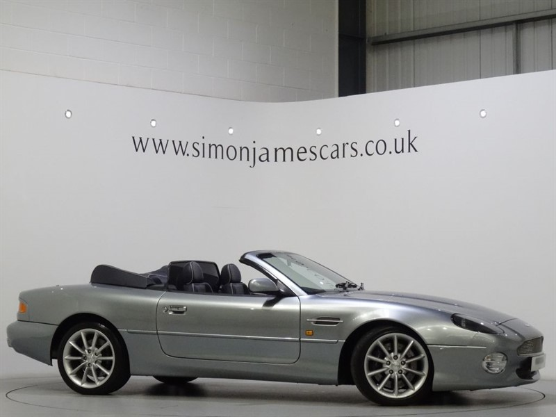 used Aston Martin DB7 VANTAGE VOLANTE in derbyshire