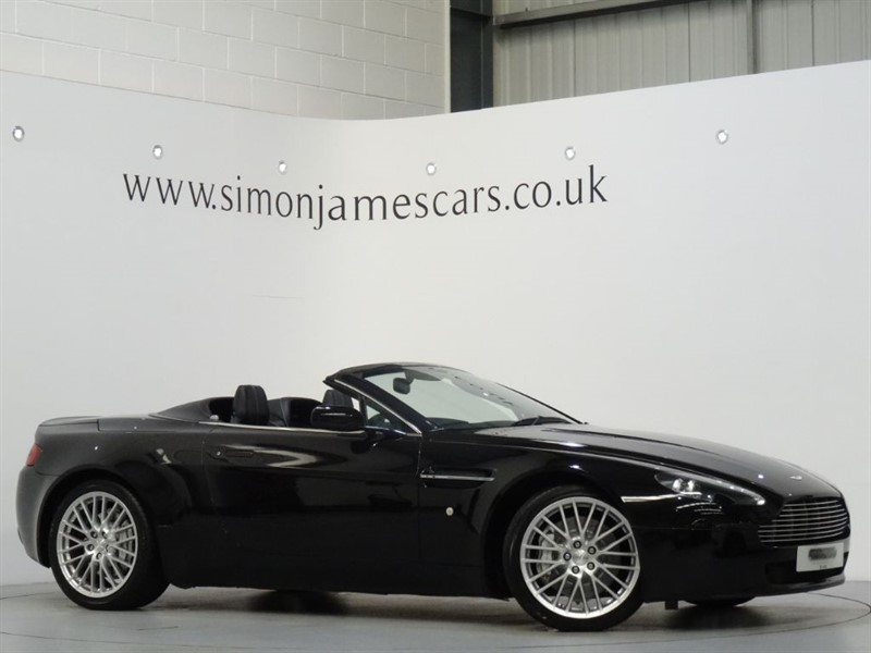 used Aston Martin Vantage V8 ROADSTER in derbyshire