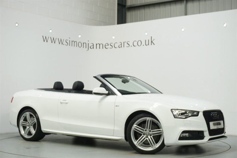 used Audi A5 S LINE SPECIAL EDITION in derbyshire