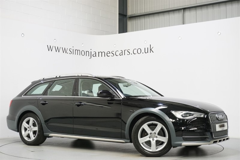 used Audi A6 allroad TDI QUATTRO in derbyshire