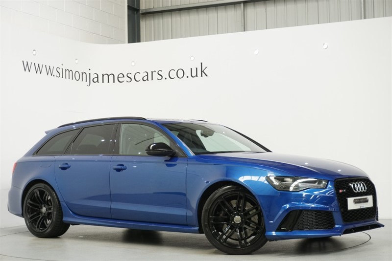 used Audi RS6 Avant V8 QUATTRO in derbyshire