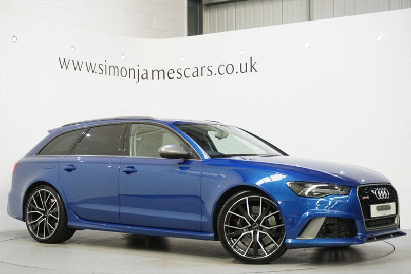 used Audi RS6 PERFORMANCE AVANT in derbyshire