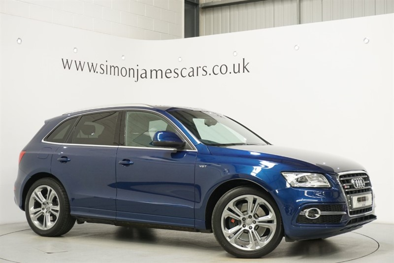 used Audi SQ5 TDi QUATTRO in derbyshire