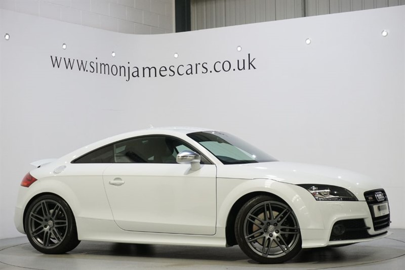 used Audi TTS BLACK EDITION in derbyshire