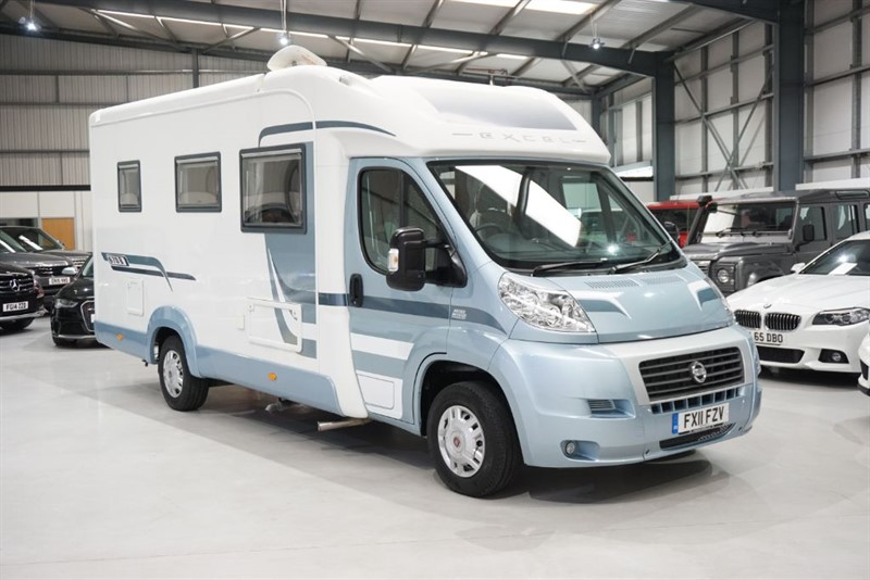 used Autotrail Excel 670B in derbyshire