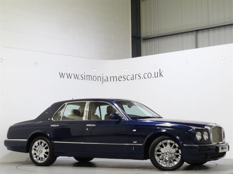 used Bentley Arnage R in derbyshire