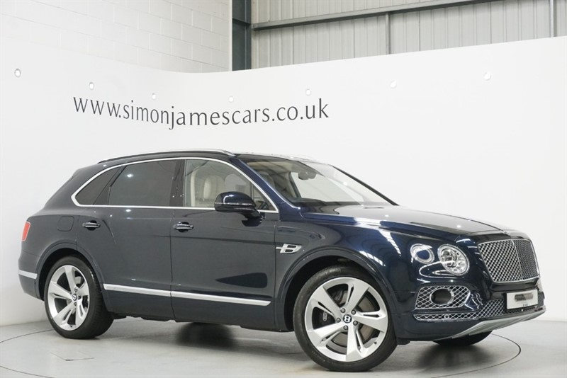 used Bentley Bentayga W12 in derbyshire