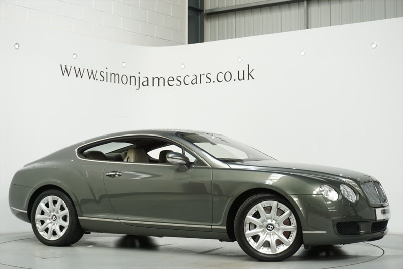 used Bentley Continental GT in derbyshire