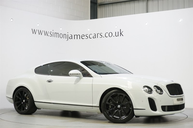 used Bentley Continental W12 SUPERSPORTS in derbyshire