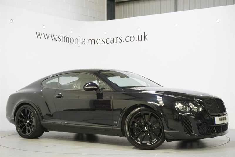 used Bentley Continental Supersports 6.0 W12 in derbyshire