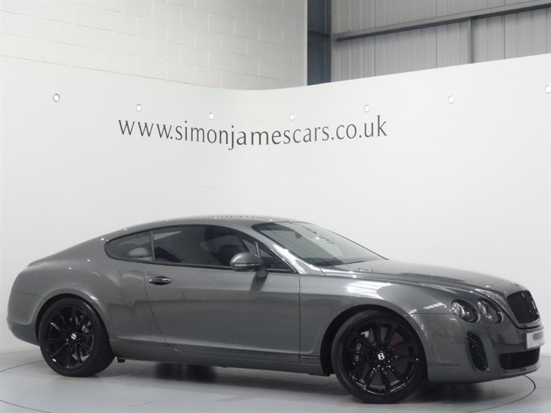 used Bentley Continental Supersports W12 in derbyshire