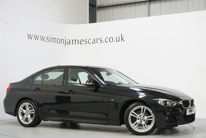 used BMW 318d M SPORT in derbyshire