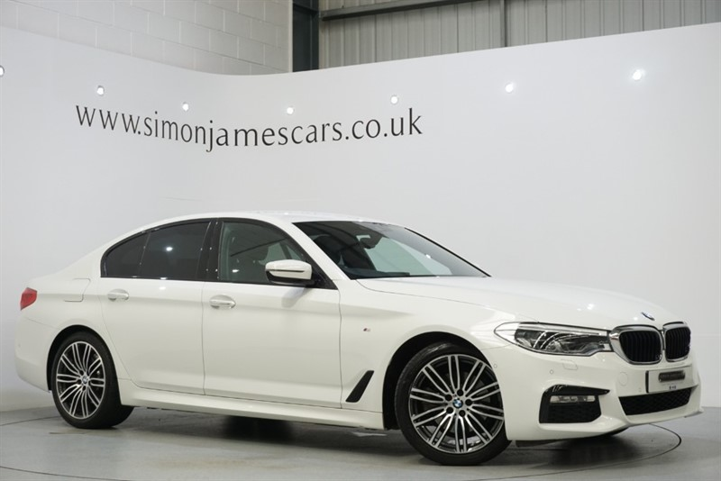 used BMW 520d XDRIVE M SPORT in derbyshire