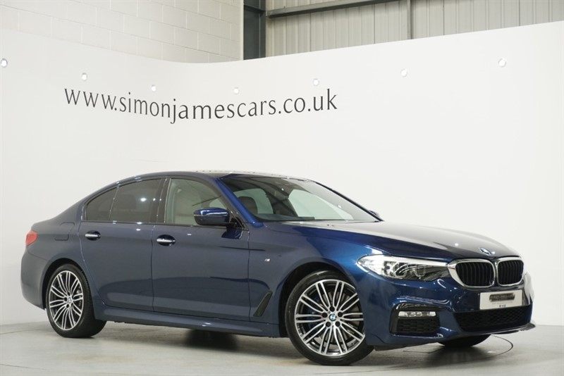 used BMW 530d M SPORT in derbyshire