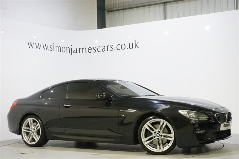 used BMW 640d M SPORT in derbyshire