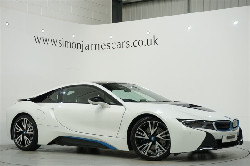 used BMW i8 Coupe in derbyshire