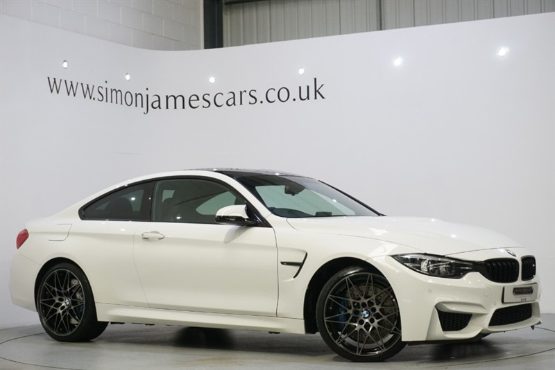 used BMW M4 COMPETITION in derbyshire
