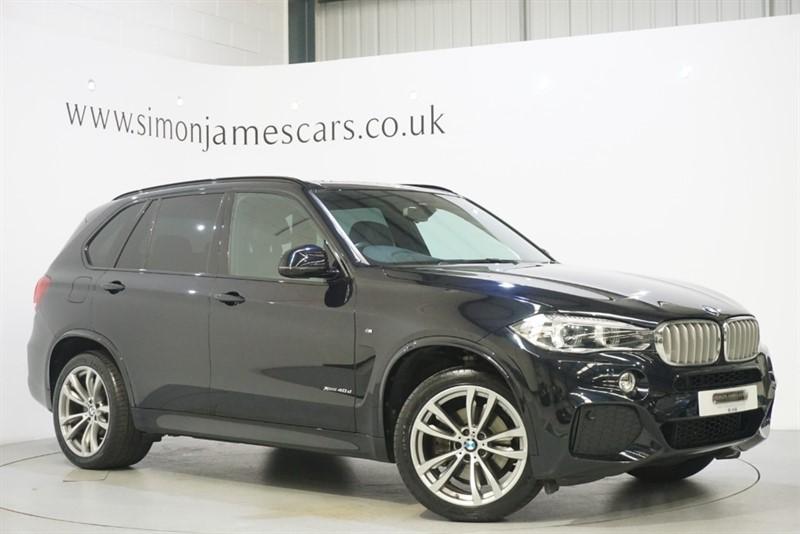 used BMW X5 40D M SPORT in derbyshire