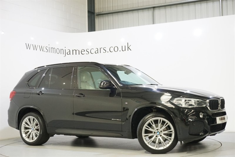 used BMW X5 30D M SPORT in derbyshire