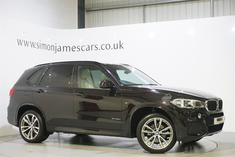 used BMW X5 XDRIVE30D M SPORT in derbyshire