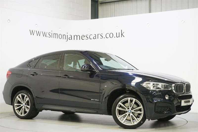 used BMW X6 XDRIVE40D M SPORT in derbyshire