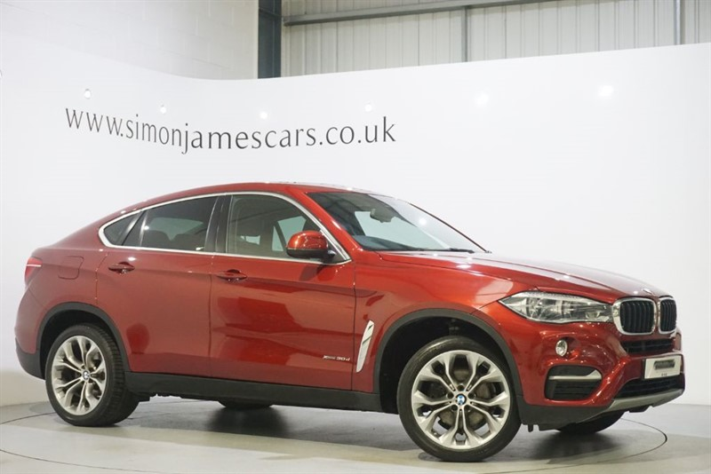 used BMW X6 XDRIVE30D SE in derbyshire