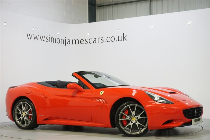 used Ferrari California '30' V8 in derbyshire