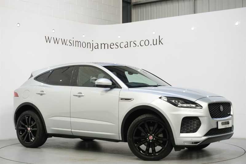 used Jaguar E-Pace R-DYNAMIC HSE in derbyshire