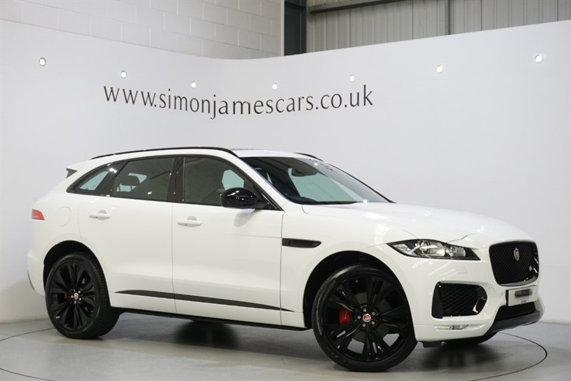 used Jaguar F-Pace V6 'S' 300PS in derbyshire
