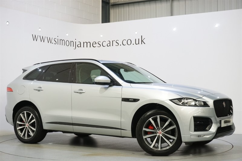 used Jaguar F-Pace R-SPORT AWD in derbyshire