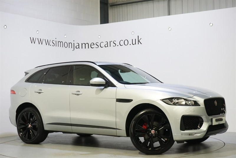 used Jaguar F-Pace V6 S AWD in derbyshire