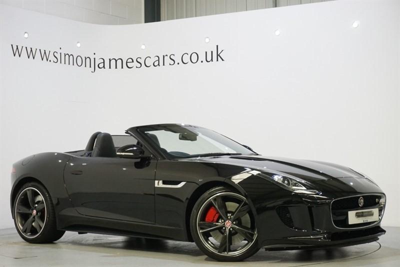 used Jaguar F-Type V8 S in derbyshire